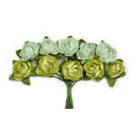 Kaisercraft - Paper Blooms - Mini - Flowers - Olive