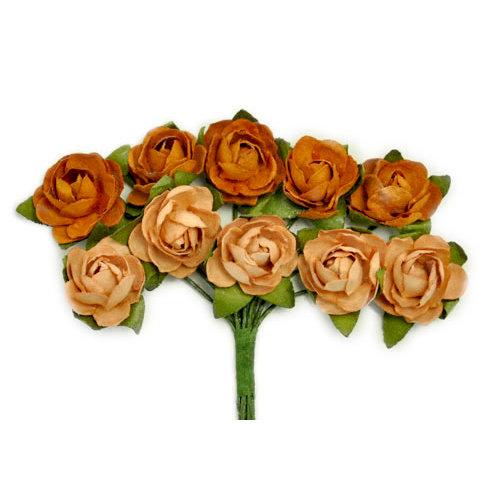 Kaisercraft - Paper Blooms - Mini - Flowers - Terracotta