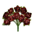 Kaisercraft - Paper Blooms - Mini - Flowers - Aubergine