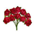Kaisercraft - Paper Blooms - Mini - Flowers - Cranberry