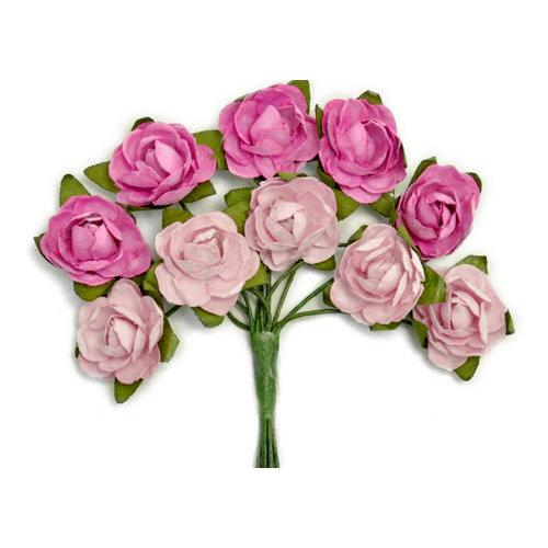 Kaisercraft - Paper Blooms - Mini - Flowers - Fuchsia