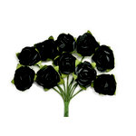 Kaisercraft - Paper Blooms - Mini - Flowers - Black