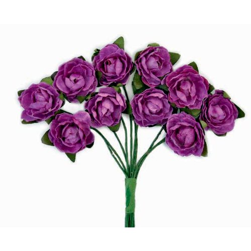 Kaisercraft - Paper Blooms - Mini - Flowers - Grape