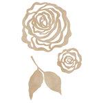Kaisercraft - Flourishes - Die Cut Wood Pieces - Roses