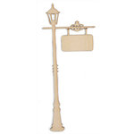 Kaisercraft - Flourishes - Die Cut Wood Pieces - Lamp Post