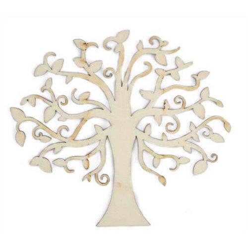 Kaisercraft - Flourishes - Die Cut Wood Pieces - Elm Tree