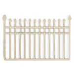 Kaisercraft - Flourishes - Die Cut Wood Pieces - Iron Fence