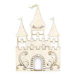 Kaisercraft - Flourishes - Die Cut Wood Pieces - Fairy Castle