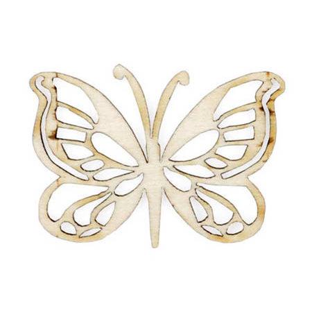 Kaisercraft - Flourishes - Die Cut Wood Pieces - Butterfly