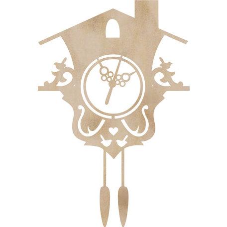 Kaisercraft - Flourishes - Die Cut Wood Pieces - Cuckoo Clock