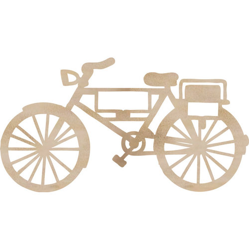 Kaisercraft - Flourishes - Die Cut Wood Pieces - Bicycle