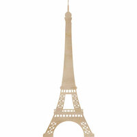 Kaisercraft - Flourishes - Die Cut Wood Pieces - Eiffel Tower