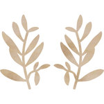 Kaisercraft - Flourishes - Die Cut Wood Pieces - Small Leaves