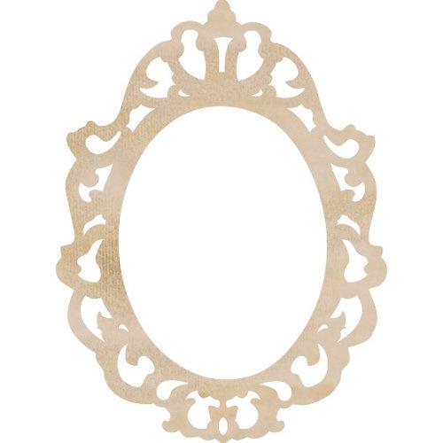 Kaisercraft - Flourishes - Die Cut Wood Pieces - Ornate Frame