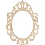 Kaisercraft - Flourishes - Die Cut Wood Pieces - Ornate Frame