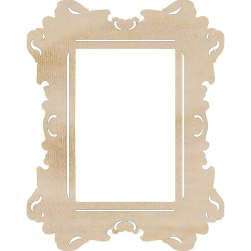Kaisercraft - Flourishes - Die Cut Wood Pieces - Rectangle Ornate Frame