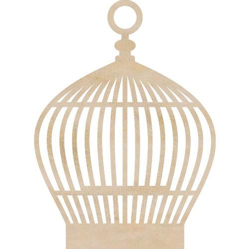 Kaisercraft - Flourishes - Die Cut Wood Pieces - Round Birdcage