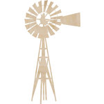 Kaisercraft - Flourishes - Die Cut Wood Pieces - Windmill