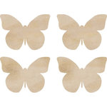 Kaisercraft - Flourishes - Die Cut Wood Pieces - Butterflies
