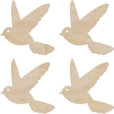 Kaisercraft - Flourishes - Die Cut Wood Pieces - Flying Birds