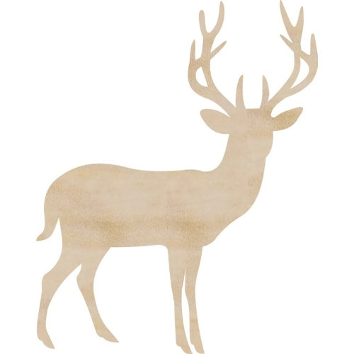 Kaisercraft - Flourishes - Die Cut Wood Pieces - Deer