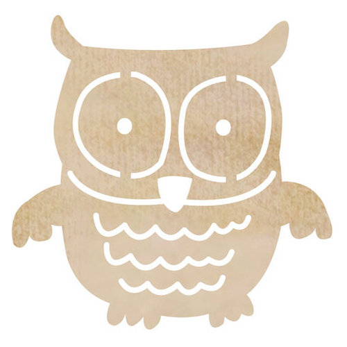 Kaisercraft - Flourishes - Die Cut Wood Pieces - Owl