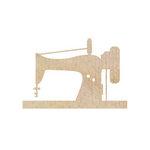 Kaisercraft - Flourishes - Die Cut Wood Pieces - Sewing Machine