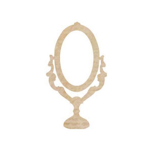 Kaisercraft - Flourishes - Die Cut Wood Pieces - Mirror