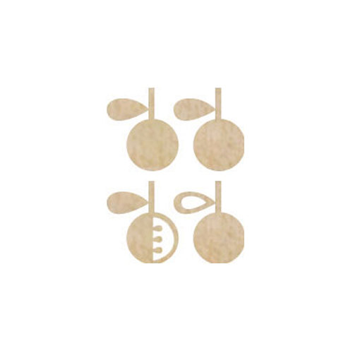 Kaisercraft - Flourishes - Die Cut Wood Pieces - Apple