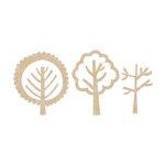 Kaisercraft - Flourishes - Die Cut Wood Pieces - Forest