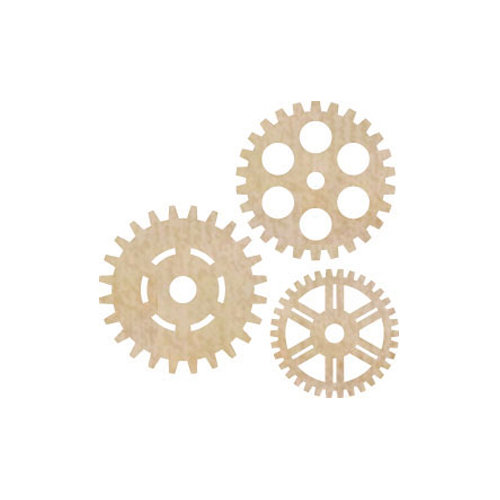 Kaisercraft - Flourishes - Die Cut Wood Pieces - Cogs