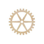 Kaisercraft - Flourishes - Die Cut Wood Pieces - Large Cogs