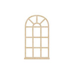 Kaisercraft - Flourishes - Die Cut Wood Pieces - Oval Window