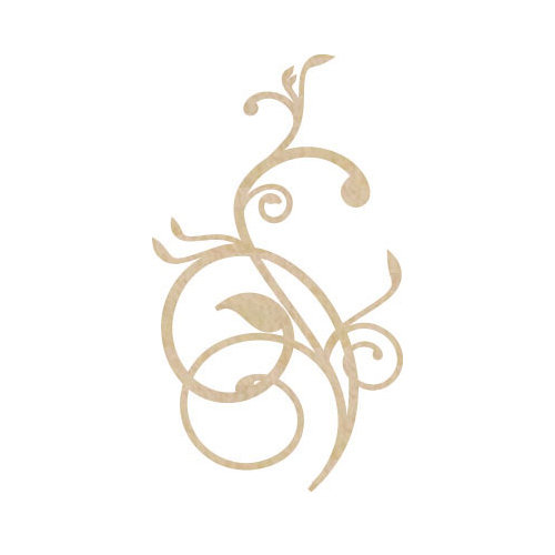 Kaisercraft - Flourishes - Die Cut Wood Pieces - Vines