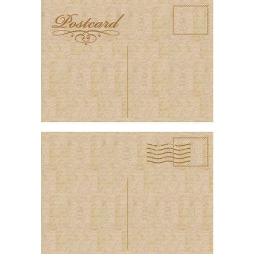 Kaisercraft - Flourishes - Die Cut Wood Pieces - Postcards