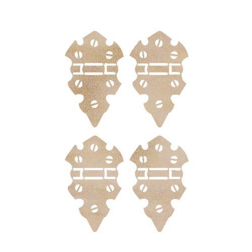 Kaisercraft - Flourishes - Die Cut Wood Pieces - Mini Hinges