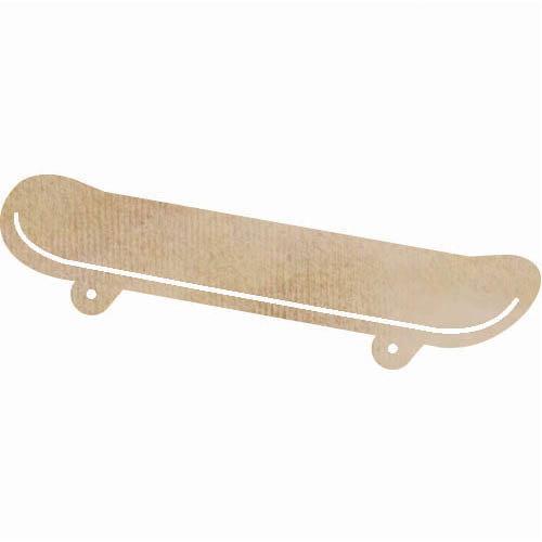 Kaisercraft - Flourishes - Die Cut Wood Pieces - Skateboard