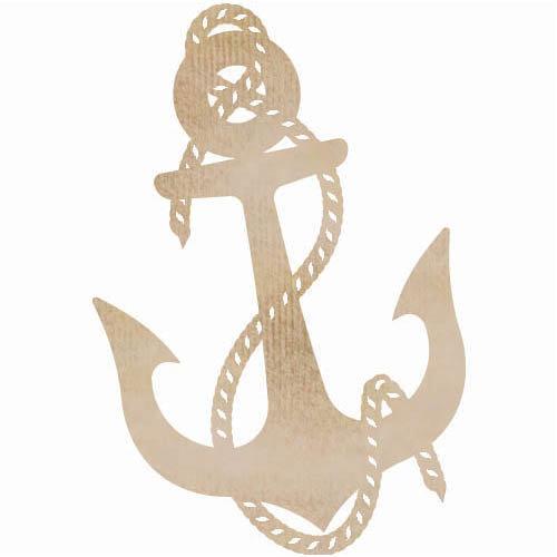 Kaisercraft - Flourishes - Die Cut Wood Pieces - Anchor