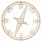 Kaisercraft - Flourishes - Die Cut Wood Pieces - Compass