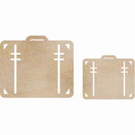 Kaisercraft - Flourishes - Die Cut Wood Pieces - Luggage