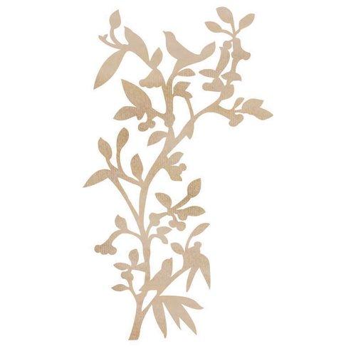 Kaisercraft - Flourishes - Die Cut Wood Pieces - Bird Branch