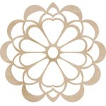 Kaisercraft - Flourishes - Die Cut Wood Pieces - Large Flower