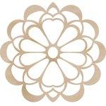 Kaisercraft - Flourishes - Die Cut Wood Pieces - Large Flower