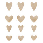 Kaisercraft - Flourishes - Die Cut Wood Pieces - Hearts