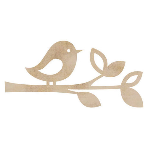 Kaisercraft - Flourishes - Die Cut Wood Pieces - Bird Twig