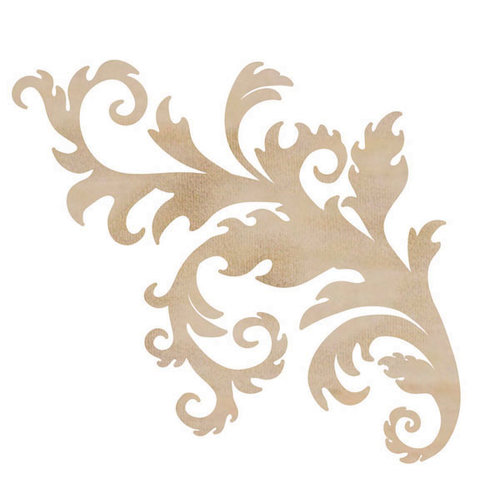 Kaisercraft - Flourishes - Die Cut Wood Pieces - Flourish