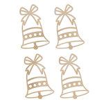 Kaisercraft - Flourishes - Die Cut Wood Pieces - Mini Bells