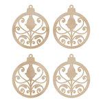 Kaisercraft - Flourishes - Die Cut Wood Pieces - Mini Ornaments