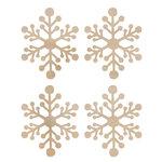 Kaisercraft - Flourishes - Die Cut Wood Pieces - Mini Snowflakes