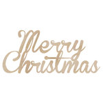 Kaisercraft - Flourishes - Die Cut Wood Pieces - Merry Christmas